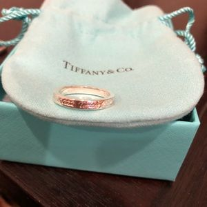 Tiffany and co Notes ring size 5